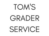Natures Edge Sponsors- Tom's Grader Service